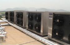 上海吉普电子有限公司热泵工程