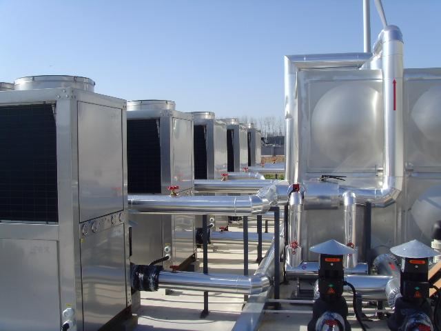 博士农场热泵热水工程